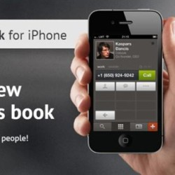 """Cobook Contacts – """"Contacts"""" With a New Social Network Integration"""